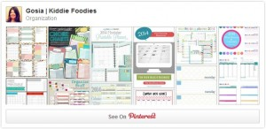 Organization Pinterest board Gosia Kiddie Foodies