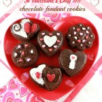 Valentine's Day dessert ideas – easy chocolate fondant cookies