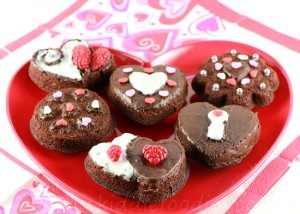 St Valentine's Day dessert ideas - easy chocolate fondant cookies 3a