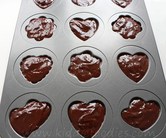 St Valentine's Day dessert ideas - easy chocolate fondant cookies step2b