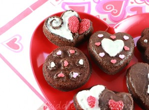 St Valentine's Day dessert ideas - easy chocolate fondant cookies step3b