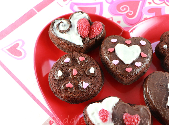 Easy chocolate fondant cookies