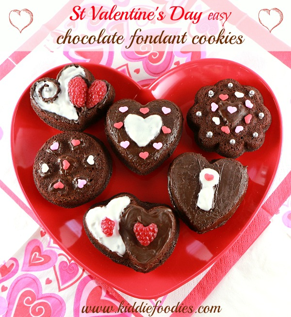 Valentine S Day Dessert Ideas Easy Chocolate Fondant Cookies
