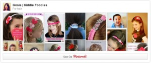 For hair - Pinterest