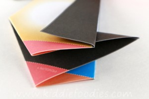 Simple origami for kids - how to make a paper penguin step4b