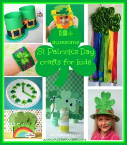 10+ awesome St Patrick's Day crafts for kids, #stpatricksdaycraftsforkids, #stpatricksday