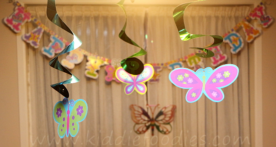 Butterfly birthday - decoration ideas