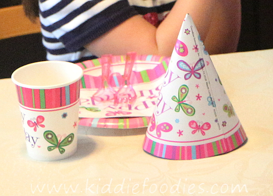 Butterfly birthday - plates