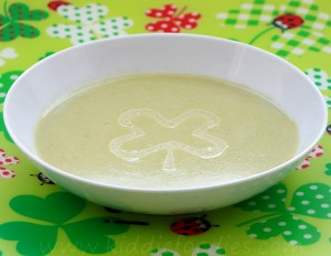 Cream of asparagus soup - easy recipe step4