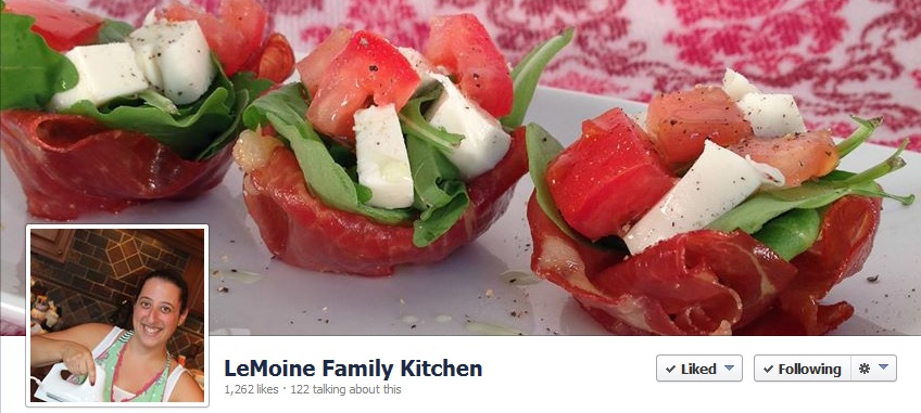 Foodies and Crafties Soiree Facebook blog hop featured blogger Angela from LeMoine Family Kitchen