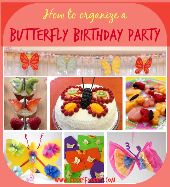 How to organize a butterfly birthday party