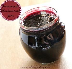 Homemade Blackcurrant Jam recipe