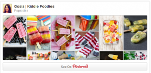 Kiddie Foodies Popsicles Pinterest board
