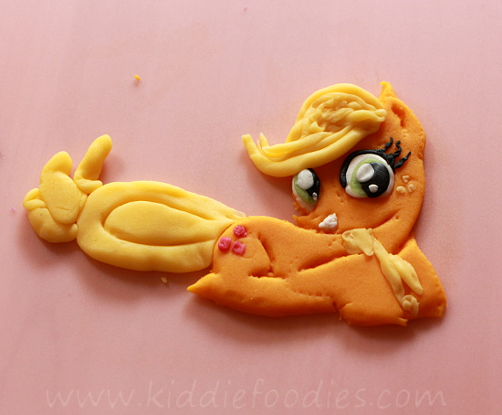 My Little Pony birthday cake - Applejack