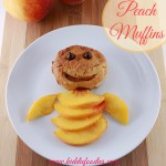Peach muffins – yummy dessert with peaches