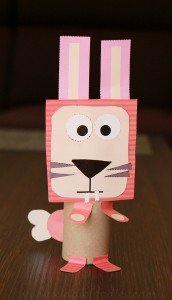 Toilet paper roll animal crafts step3