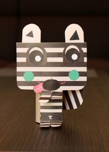 Toilet paper roll animal crafts step5