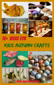 10+ ideas for DIY autumn crafts for kids