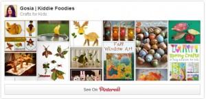 Crafts for kids Pinterest board Gosia Kiddie Foodies