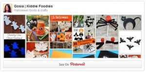 Halloween foods & crafts for kids Pinterest board