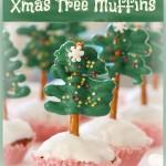 Christmas Tree Muffins