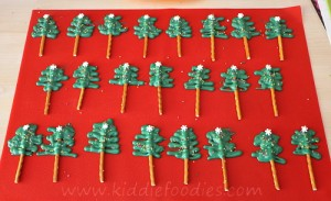 Xmas tree muffins step2c