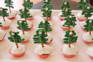 Xmas tree muffins step3
